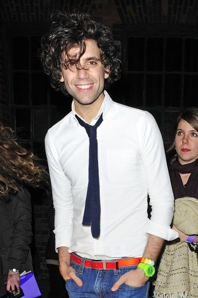 """Mika Penniman leaving Islington's Union Chapel after performing a special """"The Little Noise Sessions"""" gig for the Mencap Charity November 18, 2009"""