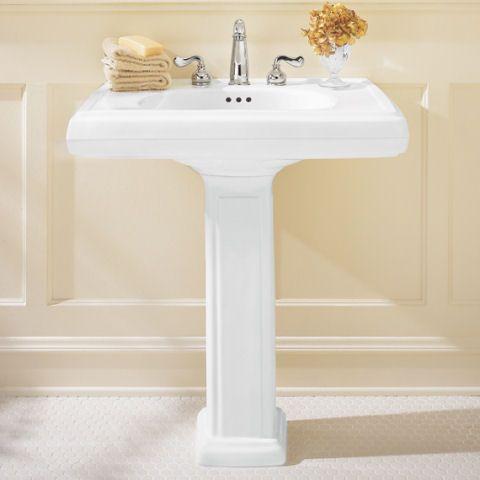 Vintage American Standard Pedestal Sinks   Pedestal Sink   Bathroom  Products   Bathroom Sinks by American. 27 best sinks images on Pinterest   Pedestal sink  American