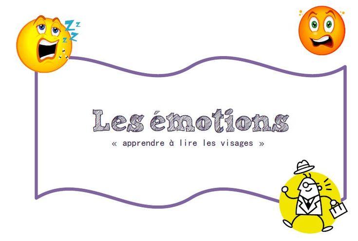 S'approprier le langage - Lire les émotions sur les visages avec un lien académique (projet complet)