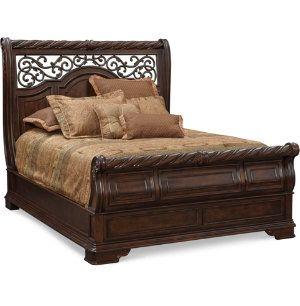 Arbor Place Queen Sleigh Bed Master Bedroom Bedrooms Art Van Furniture The Midwest 39 S