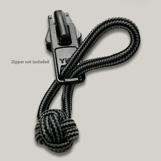 monkey fist zipper pull instructions