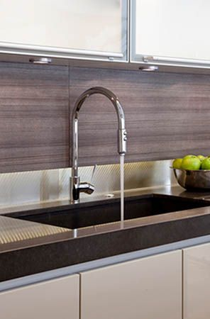 rohl kitchen collection modern side lever pull down in polished nickel