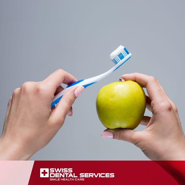 Une partie de vous sait comment prendre soin de votre Santé Bucco-Dentaire. Des soins quotidiens, associés à des visites régulières chez votre dentiste, sont importants pour prévenir les problèmes de santé dentaire.  Bon week-end ! www.swissdentalservices.com