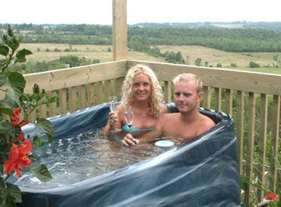 Small Space For A Hot Tub A 2 Person Hot Tub May Be The