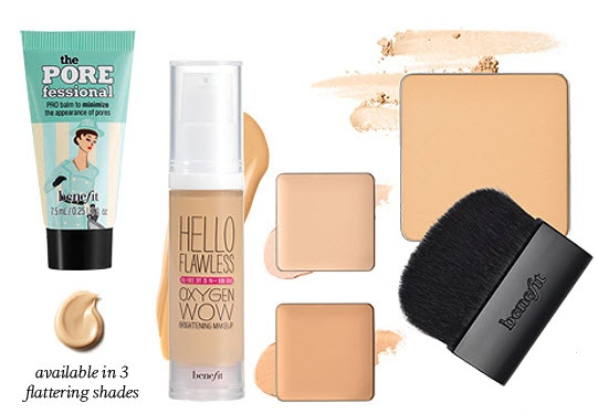 Benefit's How to Look the Best at Everything includes 4 complexion bestsellers