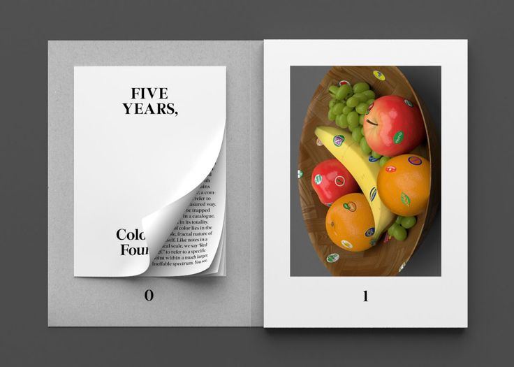 Five years catalogue, Colophon foundry
