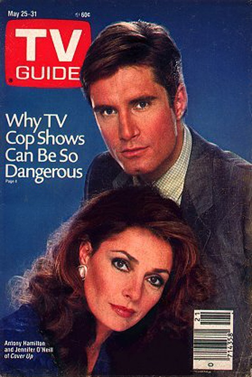Cover Up (1984-1985, CBS) — British actor Antony Hamilton joined the cast in episode 9 (November 24, 1984) after actor Jon-Erik Hexum had been killed during an on-set accident less than a month prior. The show was cancelled in 1985 after 22 episodes.