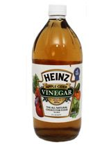 Apple cider vinegar http://grayhairsolutions.blogspot.ca/2013/03/best-natural-gray-hair-cures.html