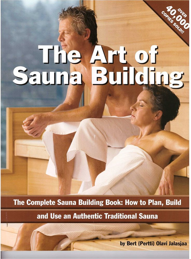 The Art of Sauna Building Book by Bert (Pertti) Olavi Jalasjaa. A very useful tool to use while building your home sauna. This is the Best-seller Sauna Book that Sets the Industry Standard and Makes Sauna Planning and Sauna Building so Easy! Current deal where the book is FREE!! Just pay the shipping of $6.99.
