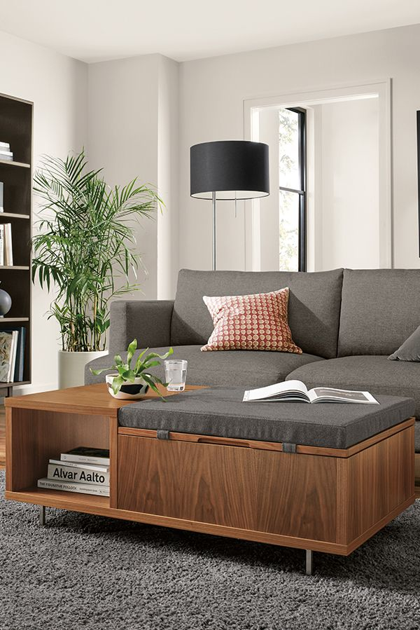 Fleming Storage Bench Modern Benches Stools Ottomans Modern Living Room Furniture Room Board Modern Furniture Living Room Living Space Decor Living Room Furniture