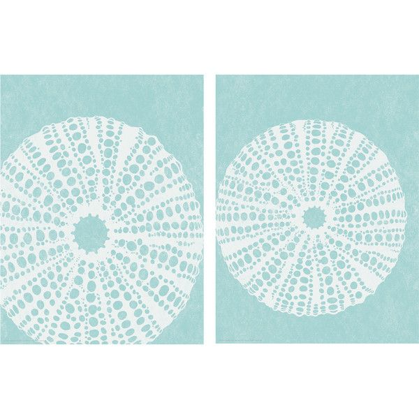 TVILLING Poster, set of 2 Sea urchins ($4.95) ❤ liked on Polyvore featuring home, home decor, wall art, 2 piece wall art, sea urchin wall art and twin pack