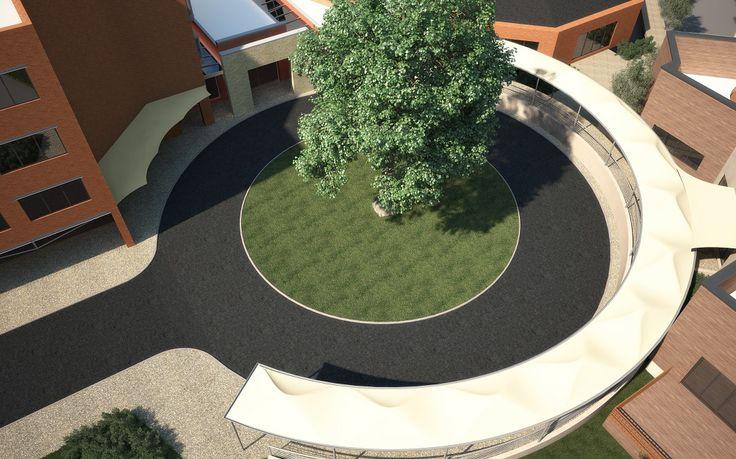 Iconic Tensile Canopy & Walkway