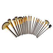 24+Brush+Sets+Overige+Draagbaar+Metaal+Gezicht+/+Oog+Overige+–+EUR+€+19.59