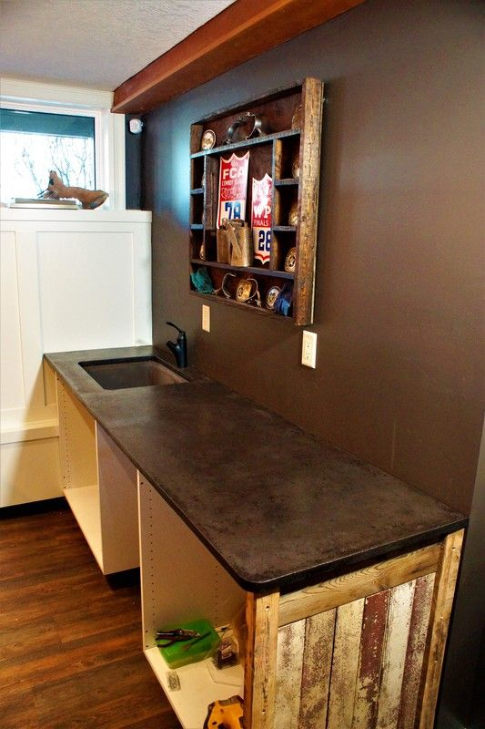 Our concrete countertops are a functional piece of art made with you...for you Let their uniqueness and versatility be the focal point of your home