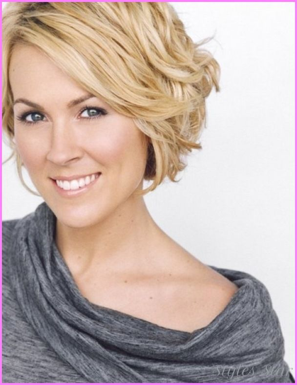 Short Wavy Haircuts on Pinterest  Short wavy hairstyles, Short wavy