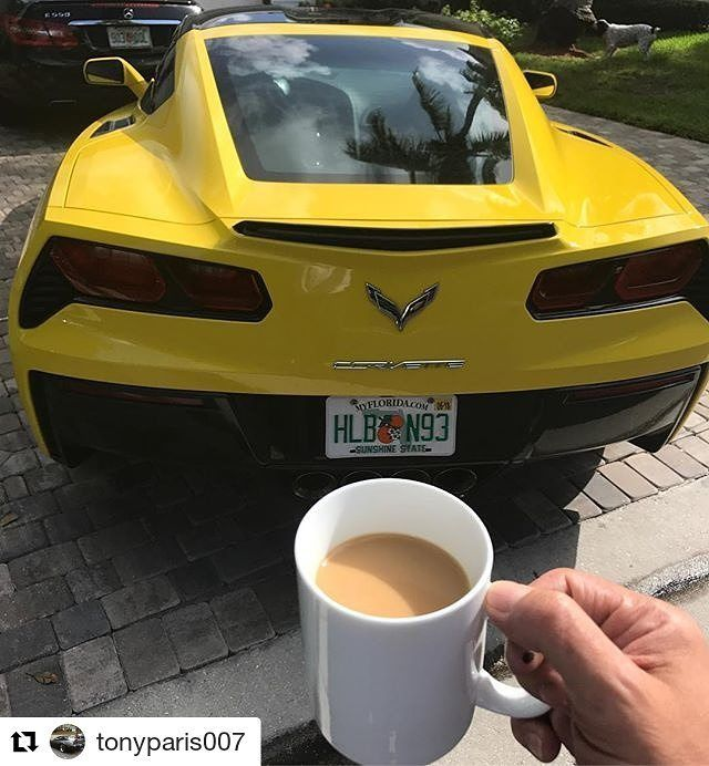 Good Morning to all! #morning #coffee #car #cars #carwash #carshow #carporn #carstagram #carspotting #carsandcoffee #carbonfiber #corvette #corvettes #corvettec4 #corvettec6 #corvettec7 #corvettez06 #corvettemods #corvetteporn #corvettefamily #vettehub #florida_corvette_owners #tonyparis #tonyparis007 #teamtonyparis #corvette_c7