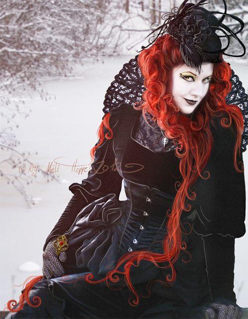 vampire-lovesong:    Dark Victorian Romance by *MADmoiselleMeli