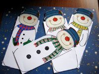 Kreatív hóemberek