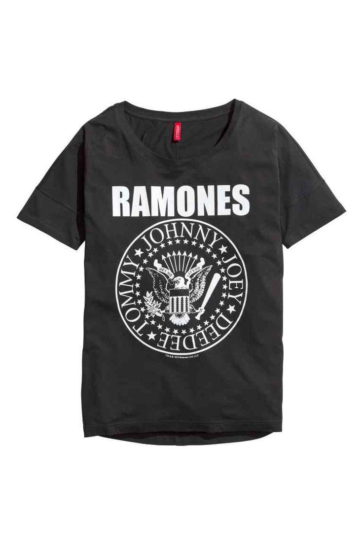 T-shirt oversize   H&M