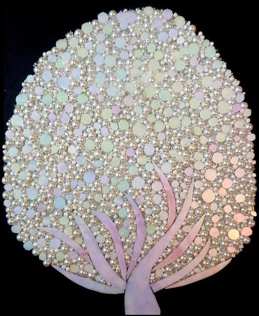 Opalescent Mosaic Tree ~ by Leena Nio