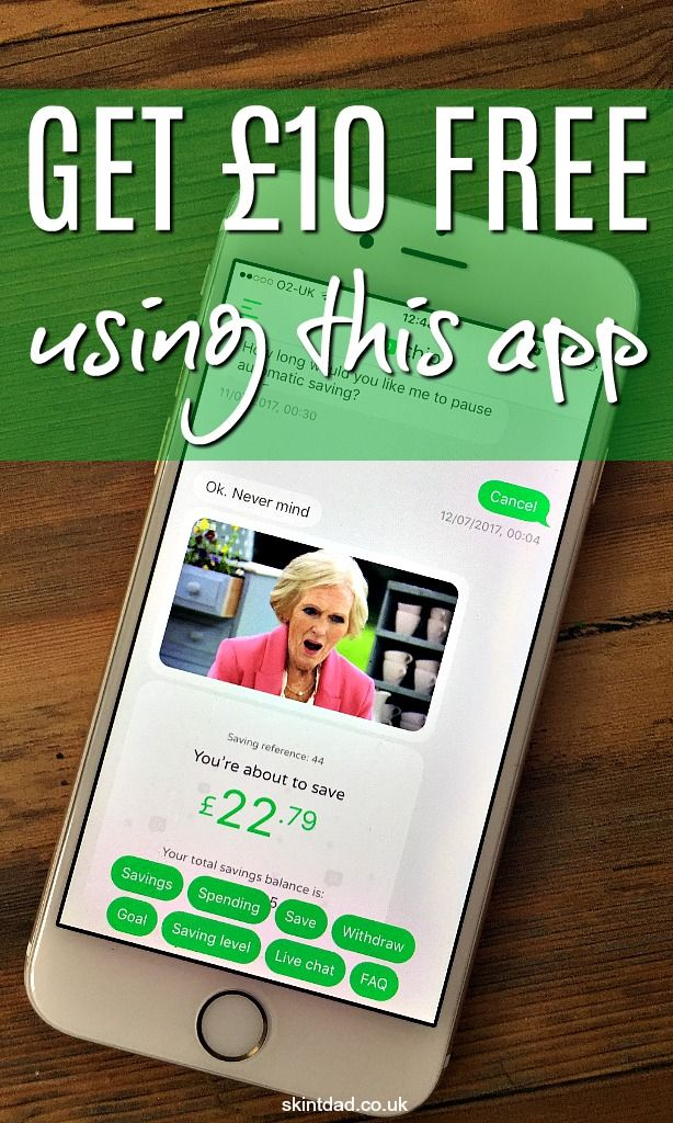 Use the free Chip savings app to automatically skim your bank account to save money. Plus, grab an exclusive free £10 or 3% interest rate.