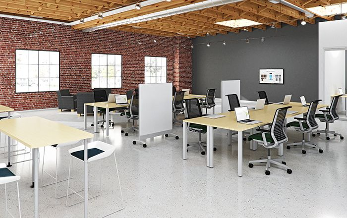 19 best images about urban loft style office on pinterest for Loft office design ideas