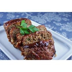 Savory beef and pork meat loaf with a sweet barbecue sauce topping is grilled right on the grates, with no pan, for a smoky flavor.