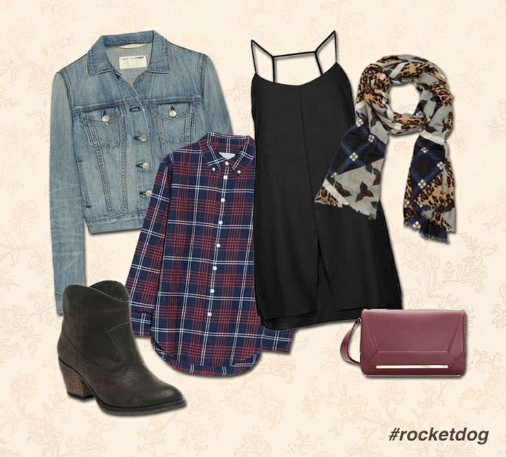 We love pairing Denim and Plaid with Rocket Dog Soundoff Vintage Worn boots!