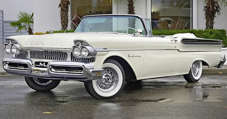 1957 Mercury Monterey Convertible – Four Headlight Version