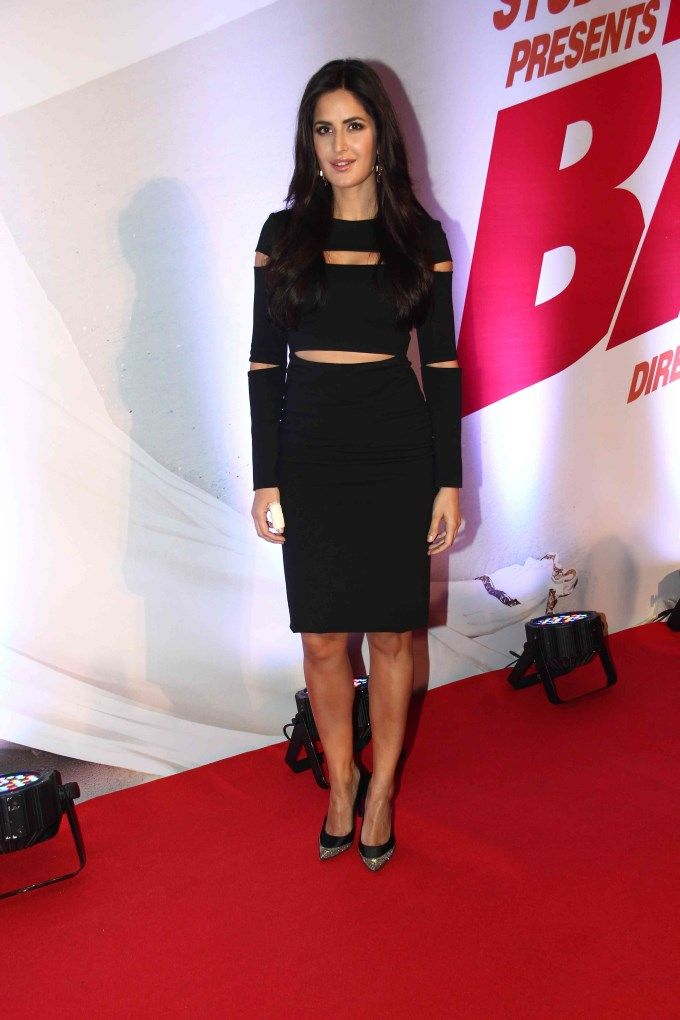 Katrina Kaif at a screening of 'Bang Bang'. #Bollywood #Fashion #Style #Beauty
