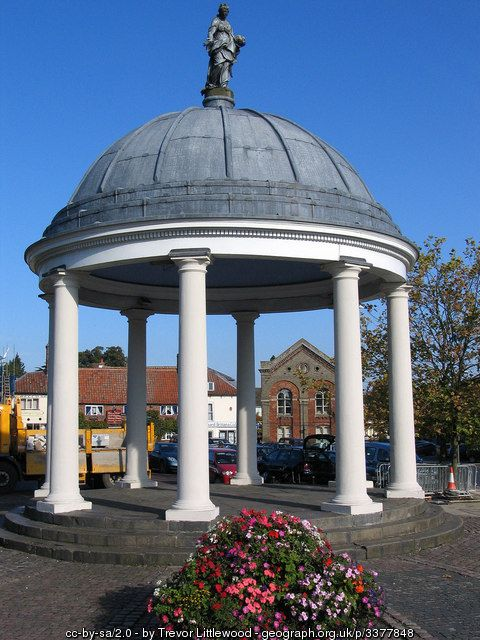The Butter Cross in Swaffham (C) Trevor Littlewood :: Geograph Britain and Ireland