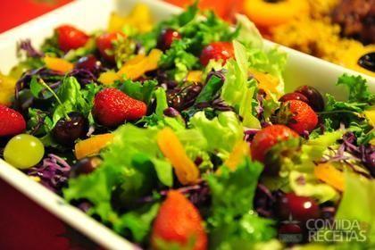 Receita de Salada tropical em receitas de saladas, veja essa e outras receitas aqui!