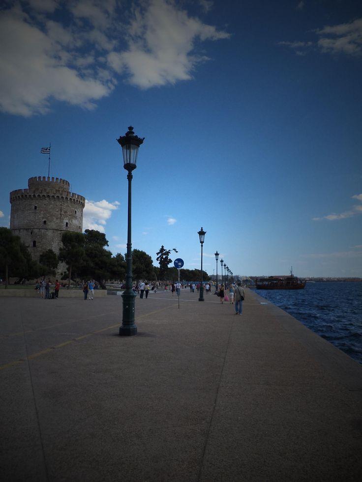Salonika, Lefkos Pirgos by Hlias Nikolopoulos on 500px