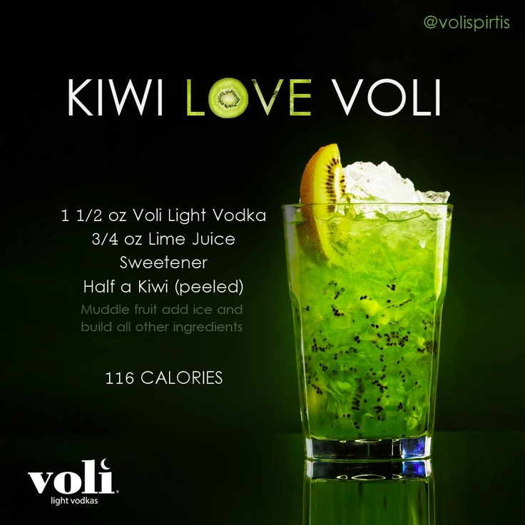 87 best cocktail recipes images on pinterest cocktails for Cocktail kiwi vodka