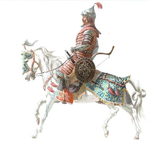 Mongol warrior 13th cent.