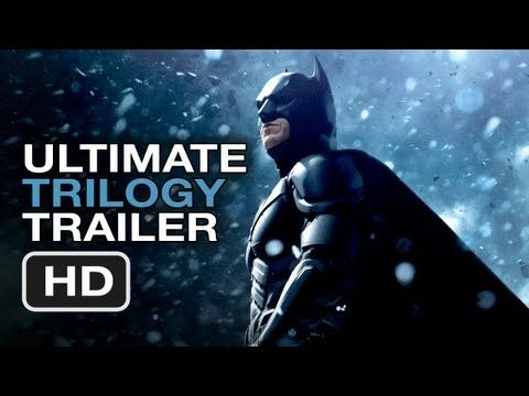 The Dark Knight Rises Ultimate Trilogy Trailer - Christopher Nolan Batman Movie Legacy HD - This is one of IF not the most wonderful thing I've ever watched.