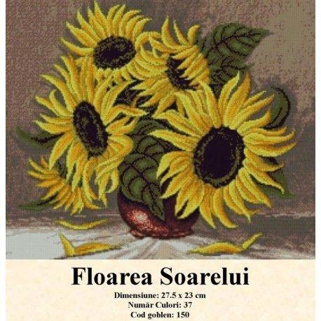 Goblen set de vanzare Floarea Soarelui http://set-goblen.ro/flori/3428-floarea-soarelui.html