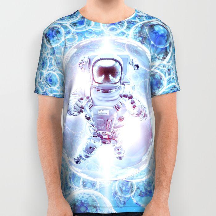 Infinite Galaxy All Over Print Shirt