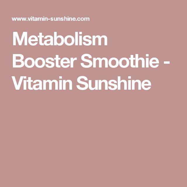 Metabolism Booster Smoothie - Vitamin Sunshine