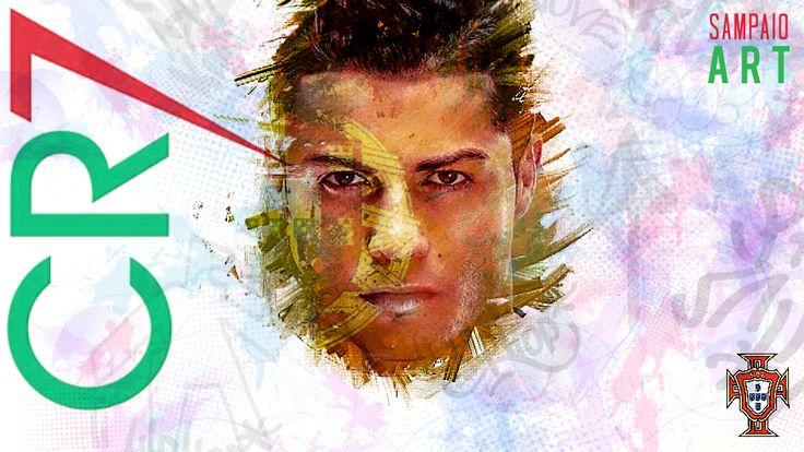 Cristiano Ronaldo #cr7 #cr #cristiano #cristianoronaldo #euro2016 #eurocup #euro #eurocup2016 #eurocopa2016 #france2016 #francia2016 #portugal #portugalalive #realmadrid #portrait #futbol #photoshop #photomanipulation #soccer