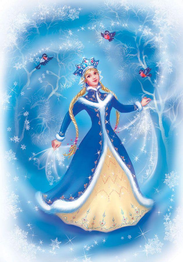 Snowgirl by OlesyaGavr.deviantart.com on @deviantART
