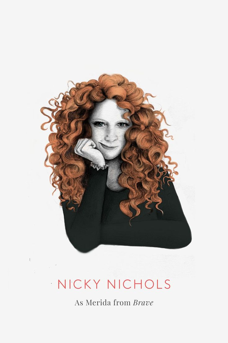 TGOD. See OITNB Characters As Disney Princesses #refinery29:  Nicky Nichols (Natasha Lyonne) as Merida from Brave