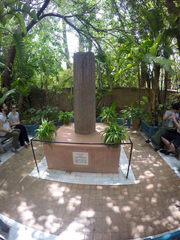 YSL Memorial - Jardin Majorelle - Marraquexe - Marrocos 2016