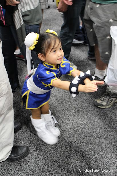 Chibi Chun-Li  I saw this little girl again this year at comic con!!!!