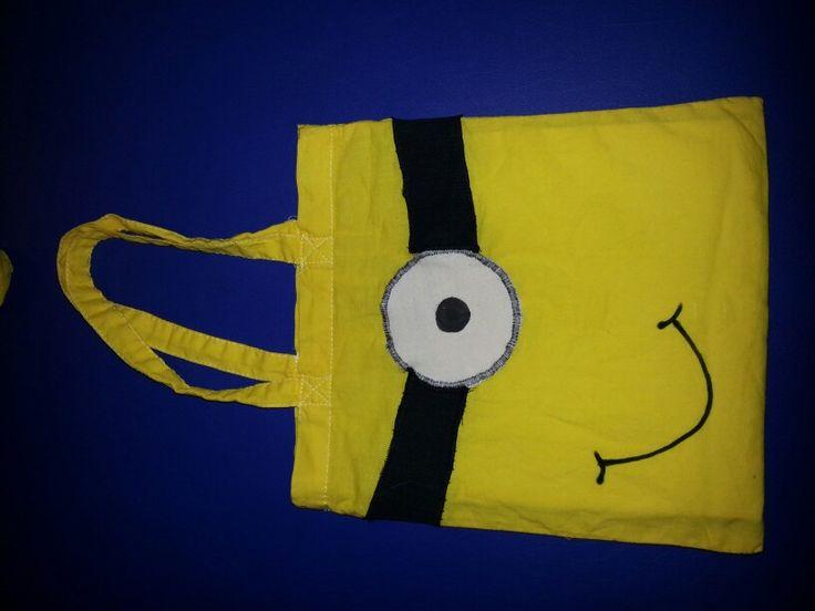 Minion Tasche als GiveAway zum Kindergeburtstag ;-)