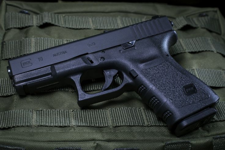 glock 19 pistol police army military fire shoot