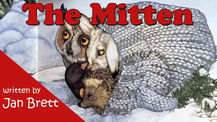 The Mitten by Jan Brett - Children's Book - YouTube