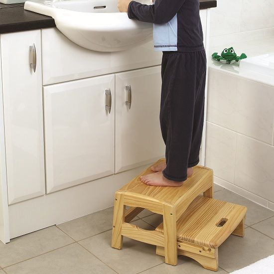 Safety Step Safety 1st Wooden 2 Step Stool