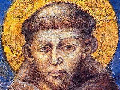 Cimabue - Saint Francis (Detail)