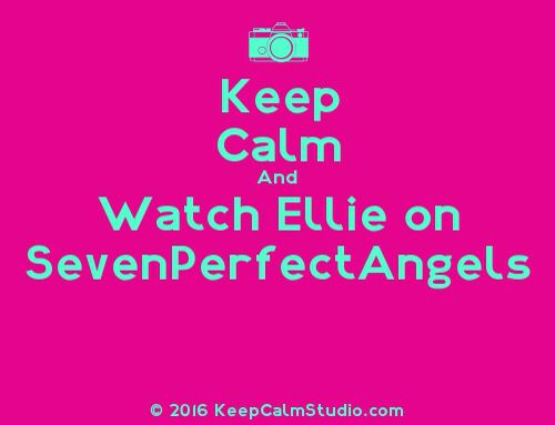That's right! If you haven't watch Ellie's videos on the SAKs channels yet, then what in the world are you doing watching SevenPerfectAngels without watching Ellie's videos?!?!?! Seriously, you should watch them, they are so amazing!!!